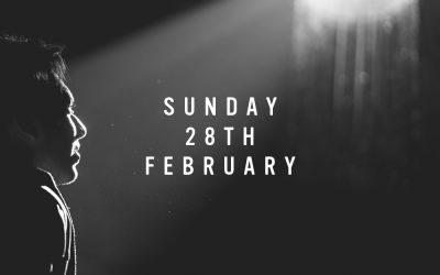 Prep for Sunday 28th February 2021