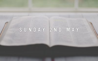 Prep for Sunday 2nd May 2021